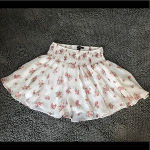 Forever 21 Floral Mini Skirt
